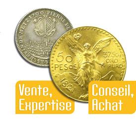 Monnaies de collection et Or d'investissement