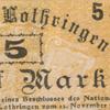 Geldscheine von Elsass-Lothringen