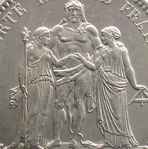Münzen Frankreich 1793-1959