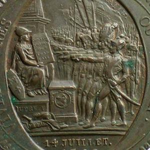 Münzen aus der französischen Revolution