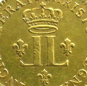 Französische königlische Münzen