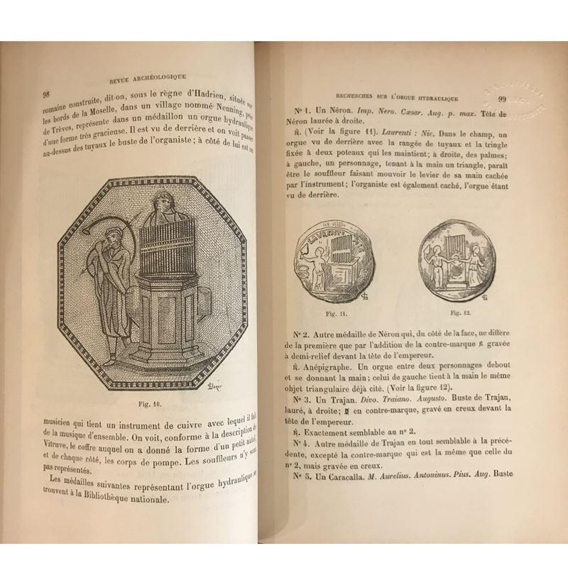 Revue Archéologique   année 1890   2 tomes