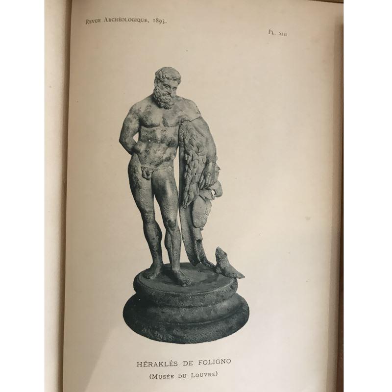 Revue Archéologique   année 1895   2 tomes