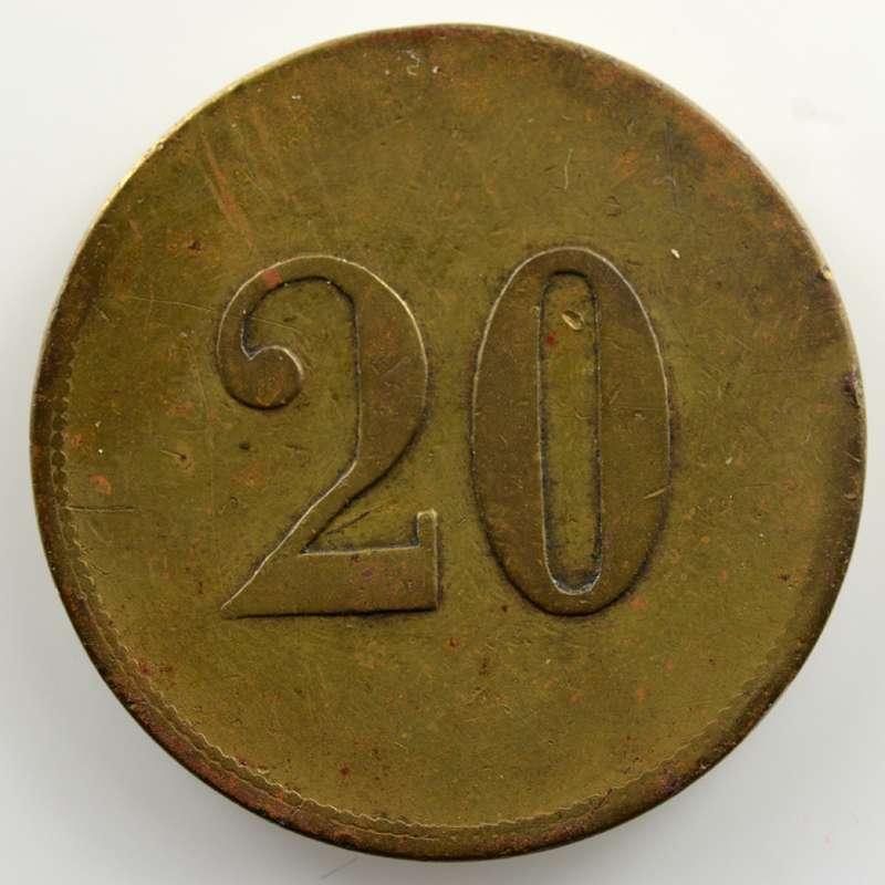 20 (Rappen)   23mm    TB