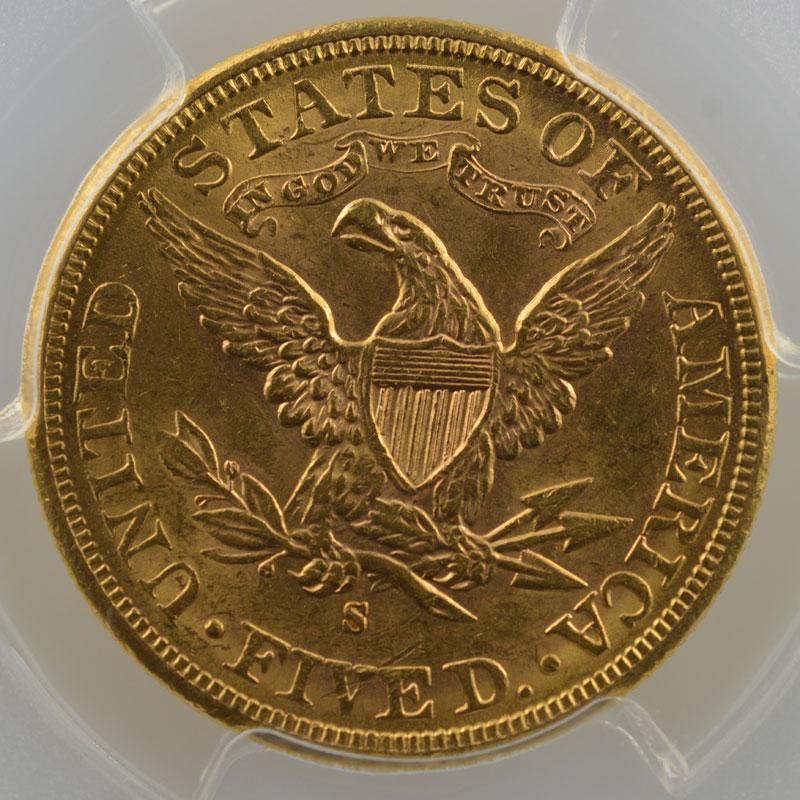 1885 S  (San Francisco)    PCGS-MS62    SUP/FDC
