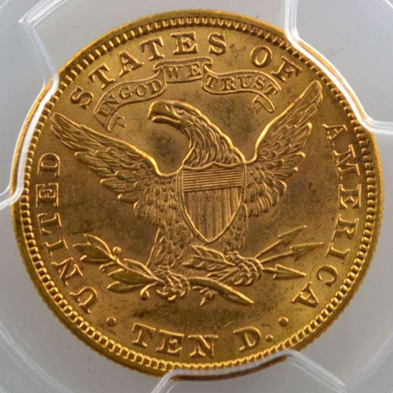 Ten D.   1901 (Philadelphie)   Liberty Head    PCGS-MS62+    SUP/FDC