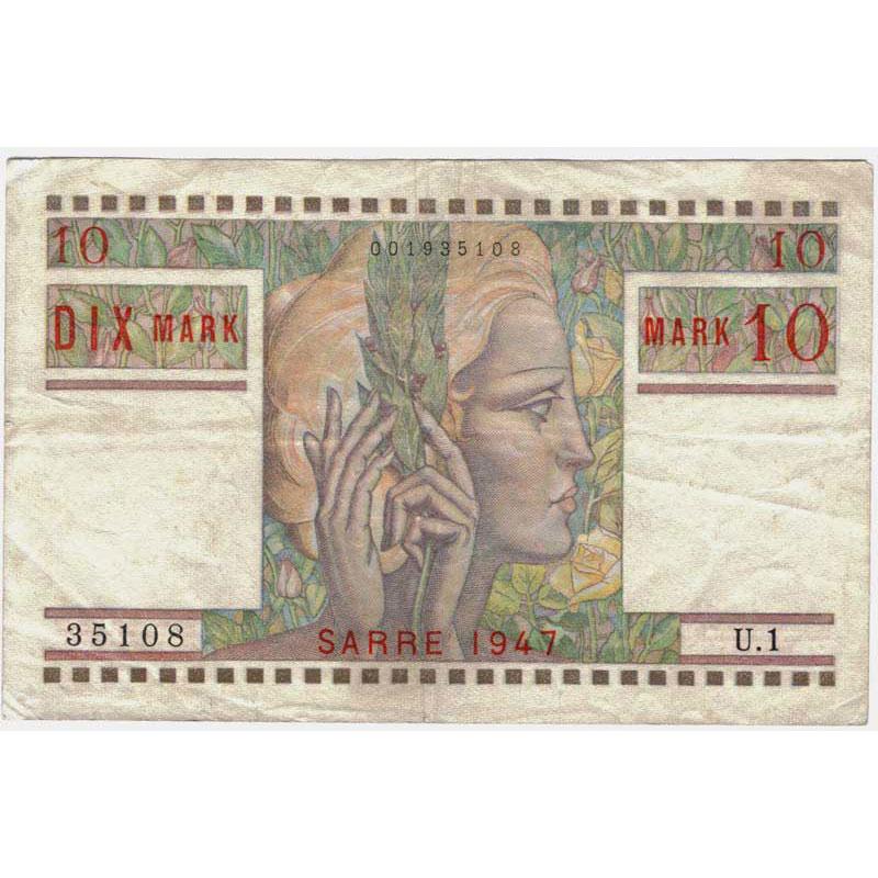 10 Mark   Juin 1947    TTB