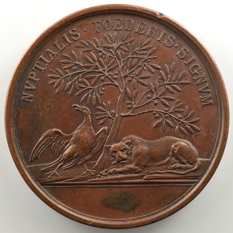 (Lavy)   Médaille en bronze  52mm   Clémence de Zähringen (+1173)    TTB+/SUP