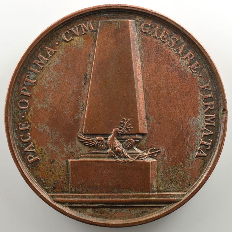 (Lavy)   Médaille en bronze  52mm   Philippe I (1268-1285)    TTB+/SUP