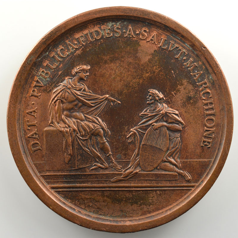 Lavy   Médaille en bronze  52mm   Humbert III (1148-1189)    TTB+/SUP