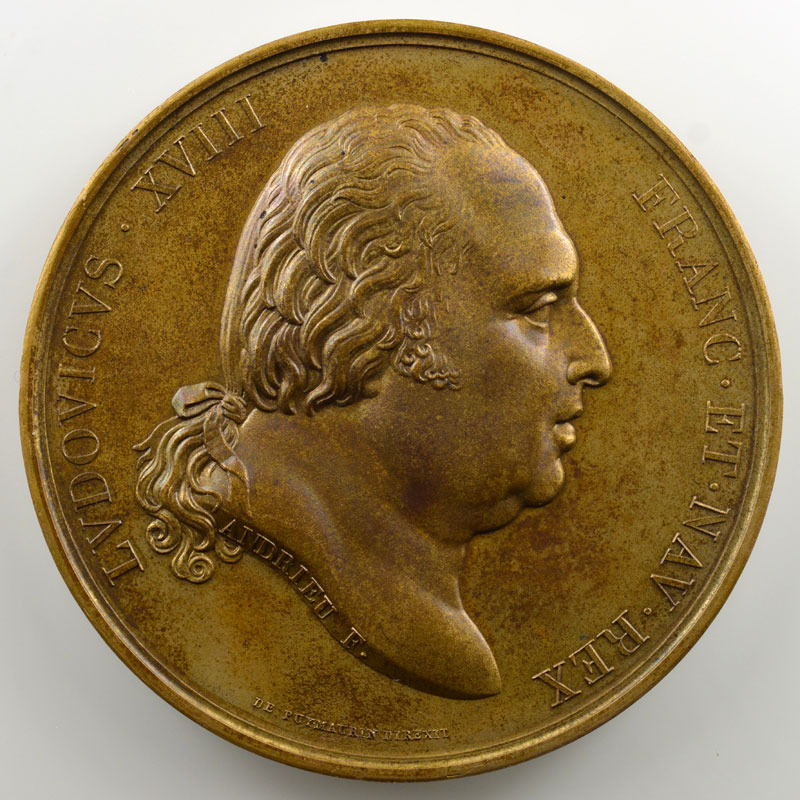 Andrieu/Galle   Bronze   50.5mm   (1795)   Fin de la captivité de Madame    FDC
