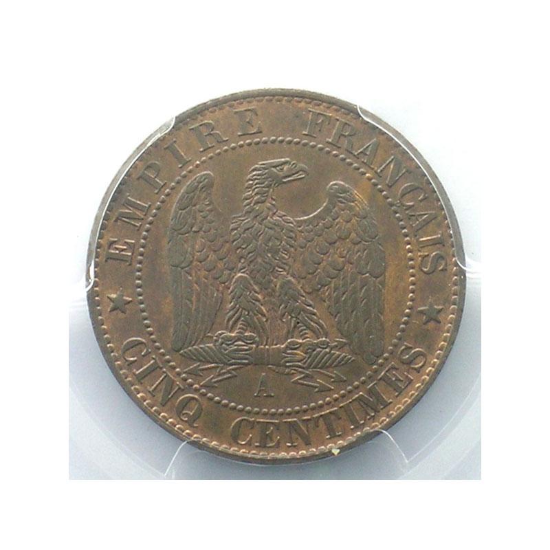 1863 A  (Paris)    PCGS-MS65BN    FDC