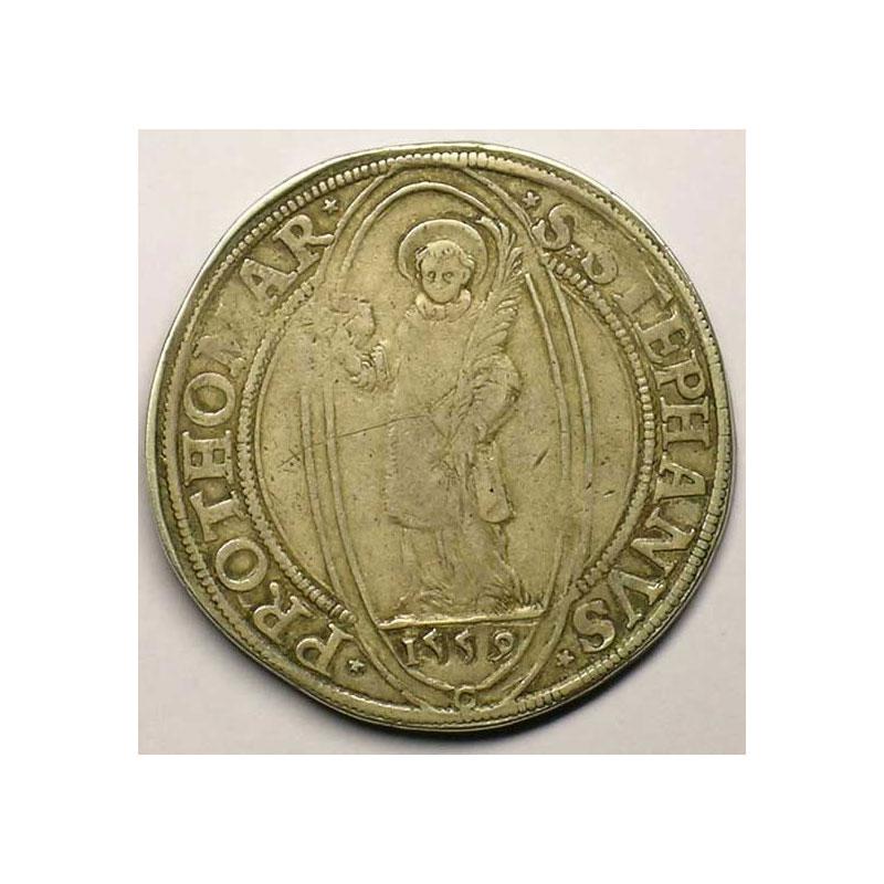 Thaler   1559 C (Courcol)  atelier de Vic-sur-Seille    TTB