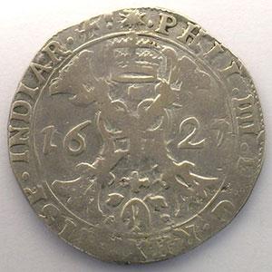 1/2 Patagon   Philippe IV (1621-1665)   1627   Dôle    TB+
