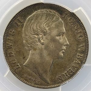1 Gulden   1864    PCGS-MS62    SUP/FDC