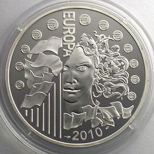 Gedenkmünzen Frankreich 10 Europa 1100 Anniversaire De Labbaye