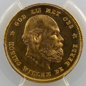 10 Gulden   1880    PCGS-MS66    FDC