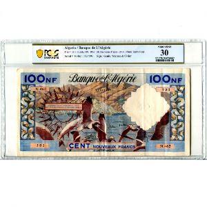 100 NF (Nouveaux Francs)   24-11-1961    TTB    PCGS-VF30
