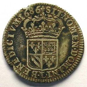 1686 L couronné  (Lille)    TB