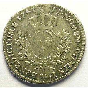 Französische Königlische Münzen G299a 15 Ecu De Béarn Au Bandeau