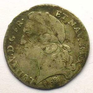 1743 D  (Lyon)    B/TB