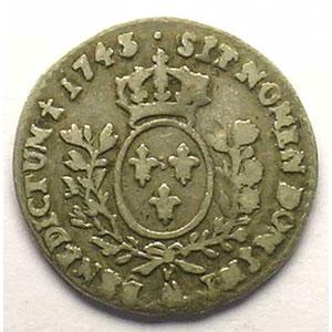 1743 (ou 45) AA  (Metz)    TB+