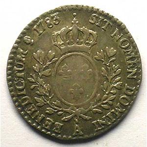 1783 A  (Paris)  1er sem.    TTB