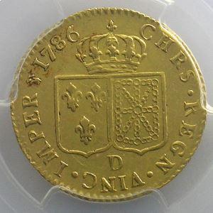 1786 D  (Lyon  2° sem.)    PCGS-XF45    TTB