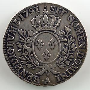 1791 .A  (Paris)  2° sem.  léopard    TB+/TTB