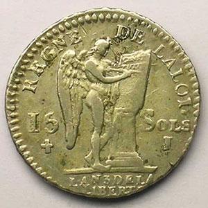 1791 I  (Limoges)  1er sem.    TTB