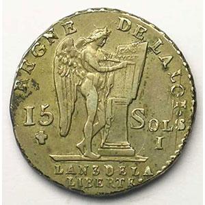1791 I  (Limoges)  2° sem.    TTB+/SUP