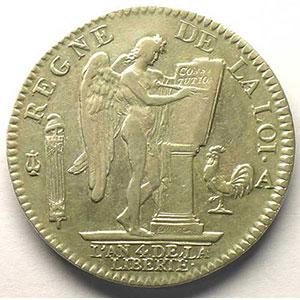 1792 A  1er sem.  (Paris)    TTB/TTB+