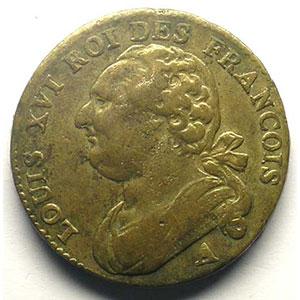 1792 A  an 4  (Paris)    TB+