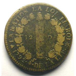 1792 BB  (Strasbourg)    B/TB