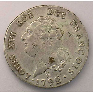 1792 T  (Nantes)  (1er sem.)    TTB