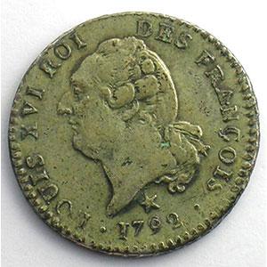 1792 W  (Lille)  1er sem.    TTB