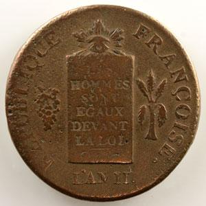 1793 BB  (Strasbourg)    TB