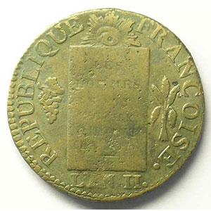 1793 D  (Lyon)    TB