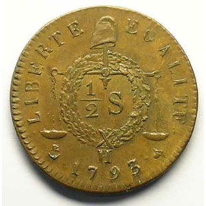 1793 H   refrappe    SUP/FDC
