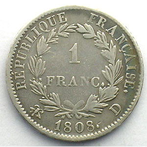 1808 D  (Lyon)    TB/TB+