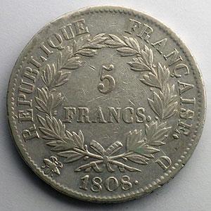 1808 D  (Lyon)    TTB