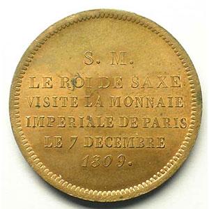 1809  bronze    FDC