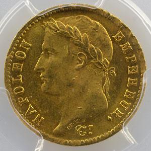 1810 A  (Paris)  petit coq    PCGS-MS64    pr.FDC