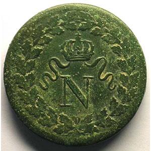 1814 BB sans point, variété millésime en petits caractères serrés    TTB