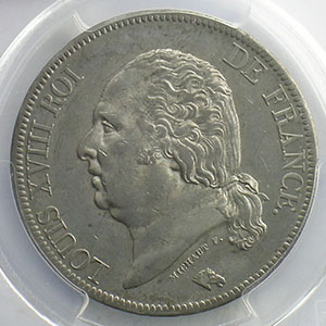 1821 A  (Paris)    PCGS-AU58    SUP