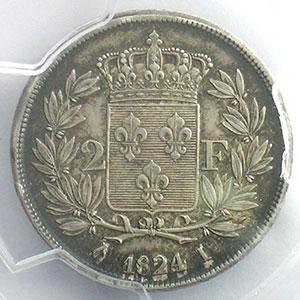 1824 I  (Limoges)    PCGS-AU55    TTB+/SUP
