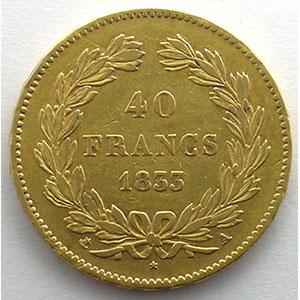 1833 A  (Paris)    TTB/TTB+