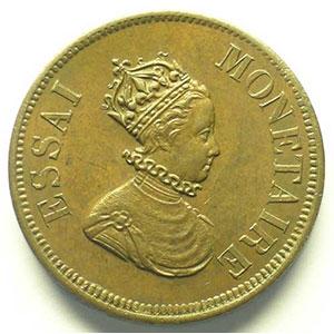 1839 Essai monétaire    SUP