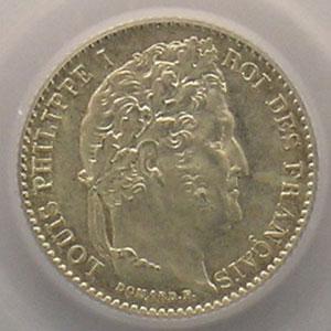 1845 B  (Rouen)    PCGS-MS64    pr.FDC