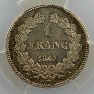 1847 A  (Paris)    PCGS-MS67    FDC exceptionnel